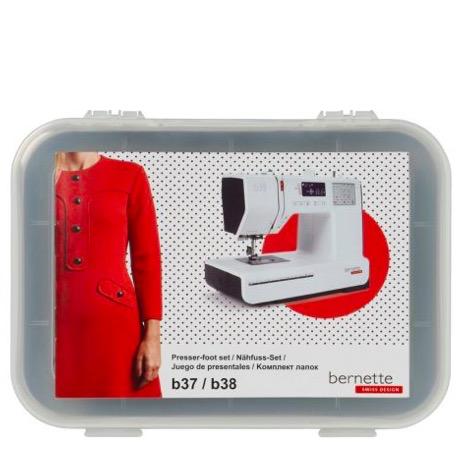 Bernina Bernette Presser Feet 10pc Kit (b37/38)
