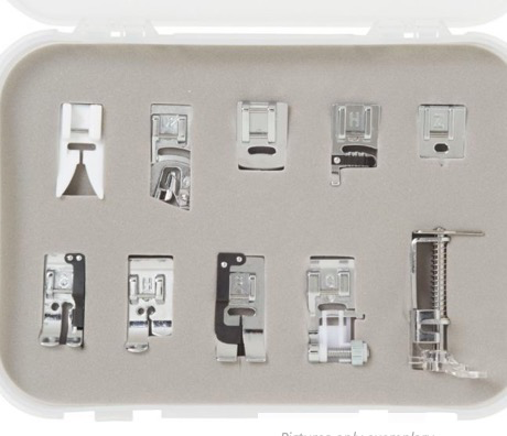 Bernina Bernette Presser Feet Quilting 10pc Kit (b37/38)