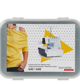 Bernina Bernette Cover / Chainstitch Presser Feet 8pc Kit (b42/48)