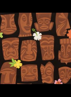 Alexander Henry Tahiti Tiki Black by Alexander Henry