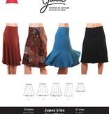 Jalie Jalie Knit Gored Skirts Pattern