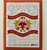 Brewer Alison Glass Embroidery Iron-On Transfers - Lucky Penny