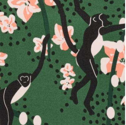 Nerida Hansen Bengal by Holli Zollinger Monkies Maya