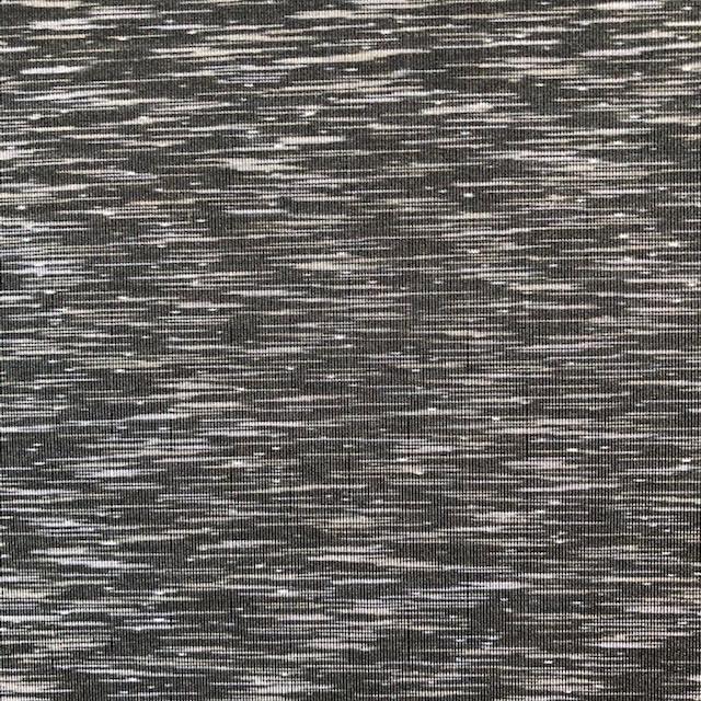 Pinecrest Fabrics Black Gray Activewear Strata Space Dye Spandex