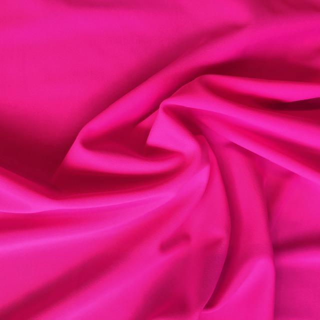 Fabric Mart Hot Pink Solid Swimwear