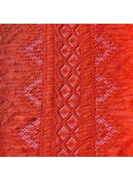 S. Rimmon & Co. Italian Lace Orange Knit