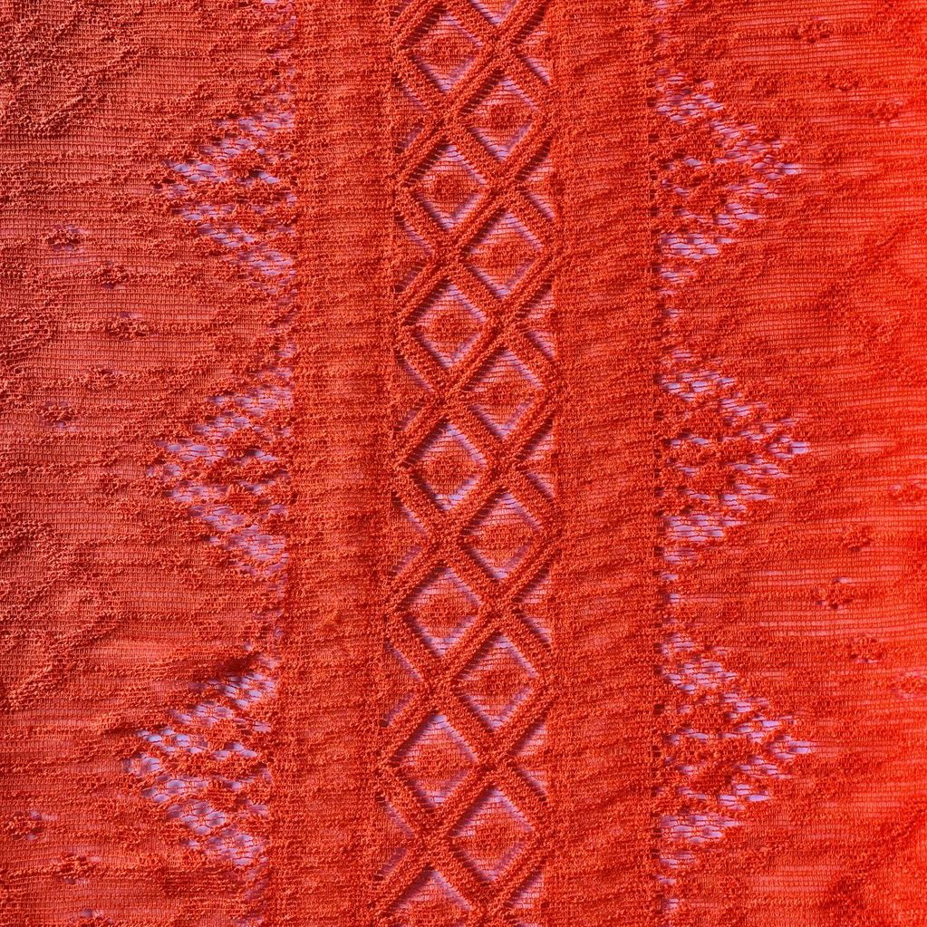 S. Rimmon & Co. Italian Lace Orange Knit