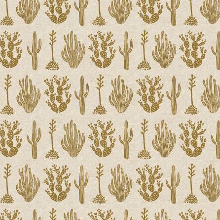 Cotton + Steel All Through the Land by Amelie Mancini for Cotton + Steel Desert Twinkle Canvas Metallic