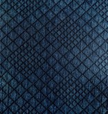 Elliot Berman Navy Blue Quilted Knit