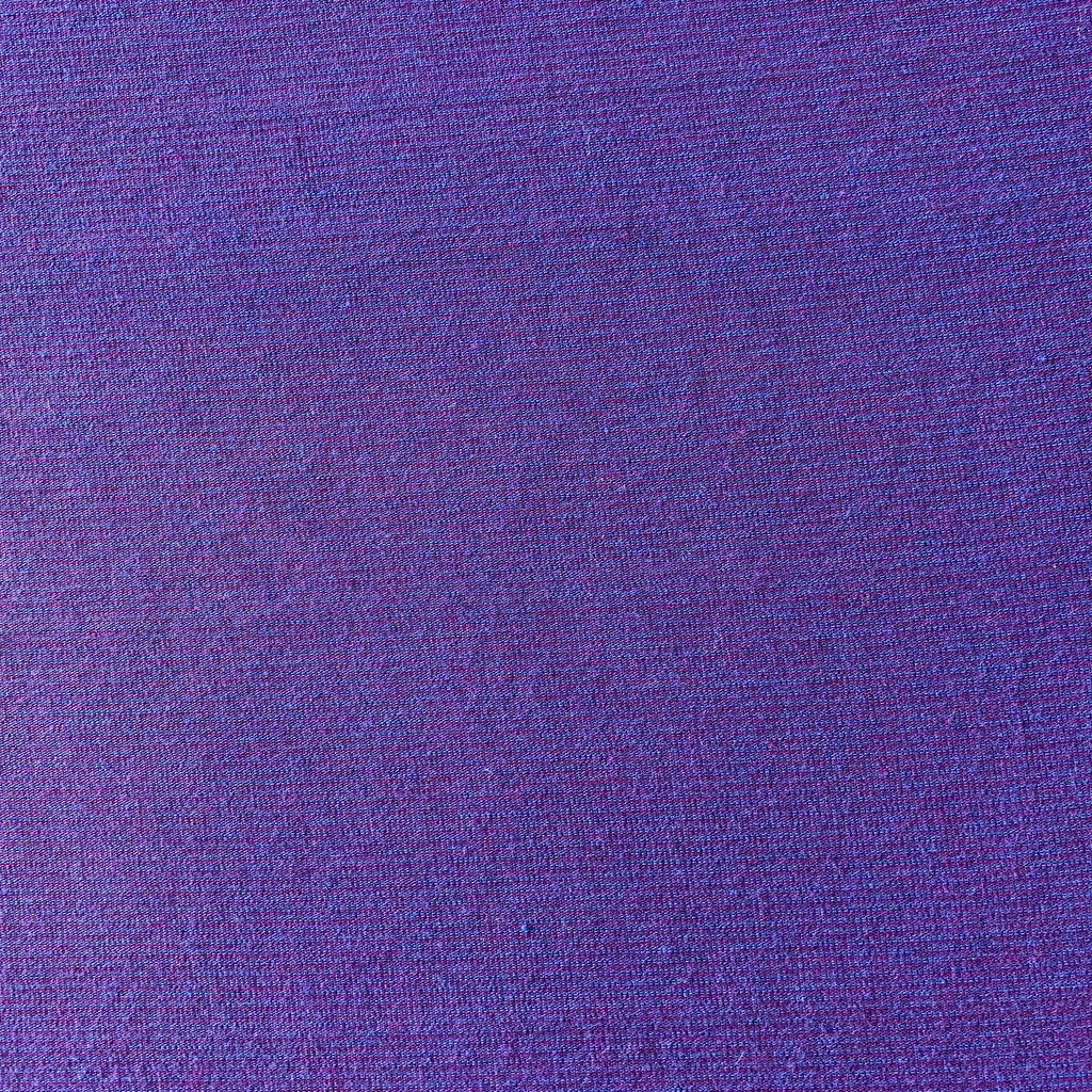 Purple / Blue Pin Striped Viscose Knit
