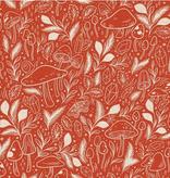 Cotton + Steel Earth Magic by Cotton + Steel Mystical Mushroom Jupiter Glow Canvas