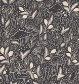 Cotton + Steel Earth Magic by Cotton + Steel Mystical Mushroom Super Nova Canvas