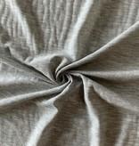 S. Rimmon & Co. Heathered Light Grey Micro Stripe Knit
