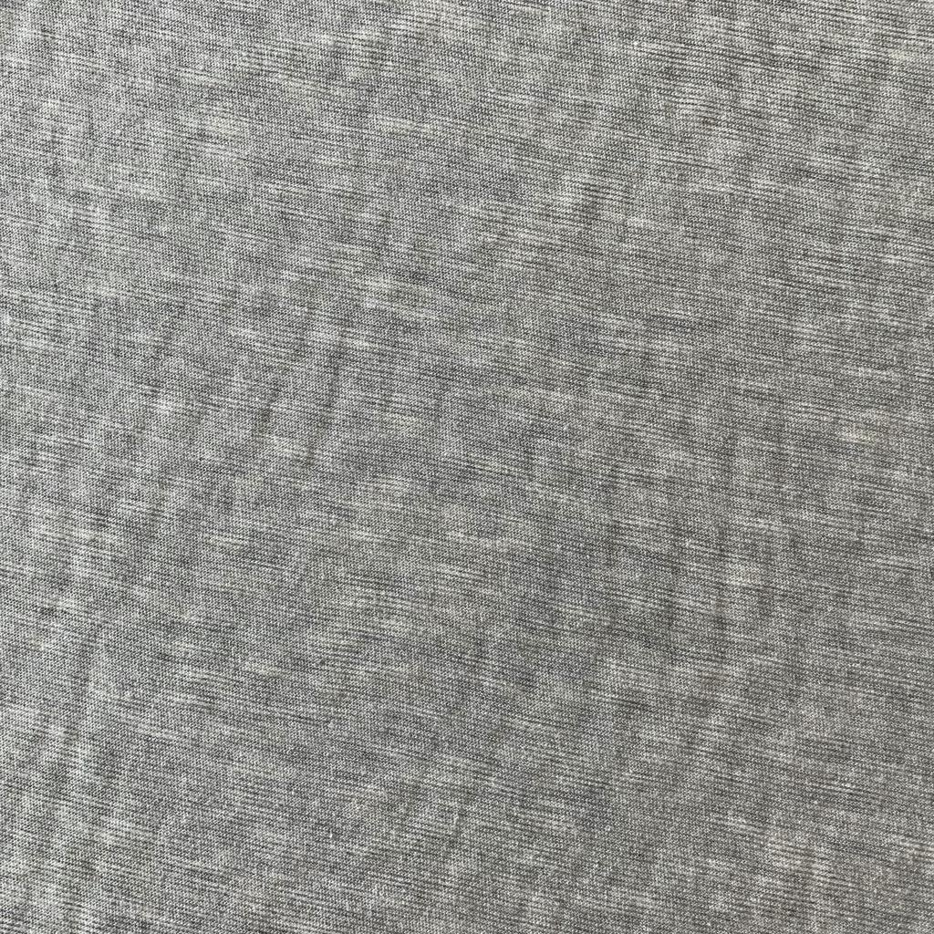 S. Rimmon & Co. Heathered Light Grey Micro Stripe Knit
