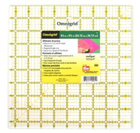 """Omnigrid Omnigrid 12.5"""" Ruler CURBSIDE PICKUP ONLY"""