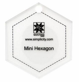 Jelly Roll Ruler Mini Hexagon