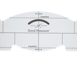 Brewer Good Measure Amanda Murphy Every Feather Spine Template Quilting Ruler