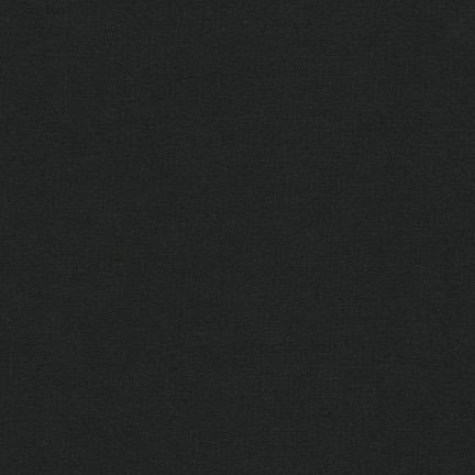 Robert Kaufman Chamonix Cotton Moleskin Black