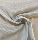 Michael Levine Taupe / White Nylon Stretch Lining