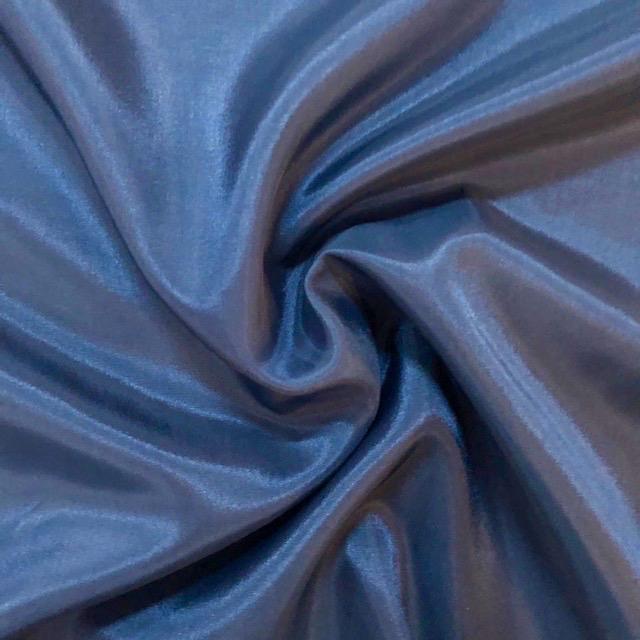 Dark Teal Poly / Rayon Lining