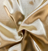Champagne Charmeuse Metallic Poly Lining