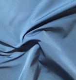 Slate Blue Nylon Taffeta Windbreaker