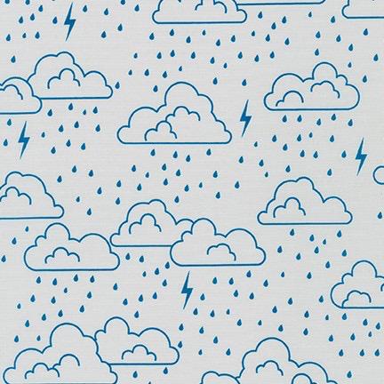 Robert Kaufman On the Lighter Side Blue Storm Clouds