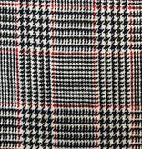 Fabric Mart Plaid  Red / Black / White Wool Coating