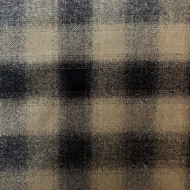 S. Rimmon & Co. Italian Wool Plaid Olive