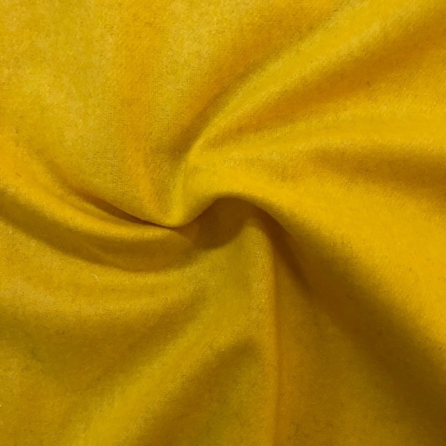 S. Rimmon & Co. Yellow Wool / Poly Blend Coating