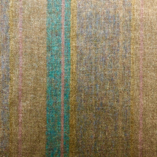 Fabric Mart Scotland Wool Tuape with Multi Stripe
