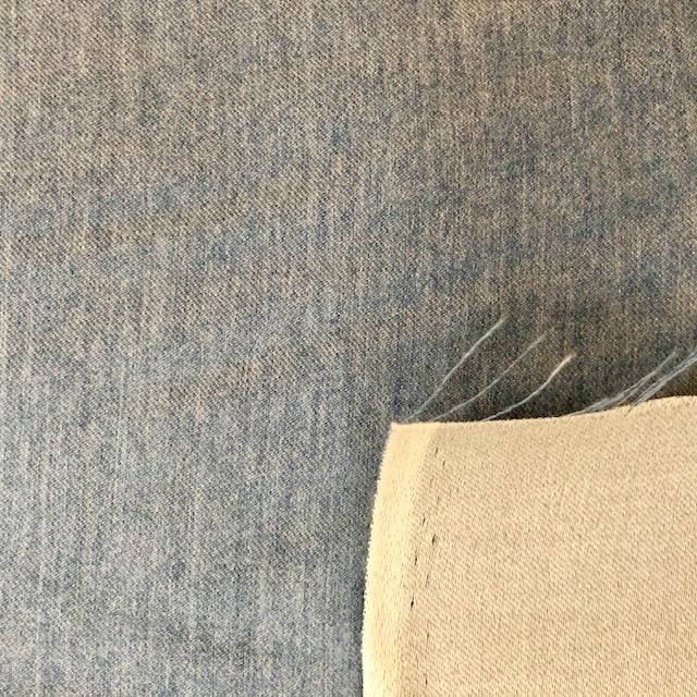 S. Rimmon & Co. Lightweight Twill-Backed Wool Monaco Blue