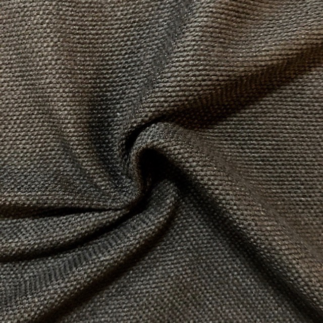 S. Rimmon & Co. Black Cotton / Rayon Loose Woven
