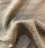 S. Rimmon & Co. Grided Silk Taupe