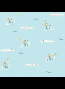 Birch Fabrics Storyboek by Jay-Cyn Designs Mermaids Knit