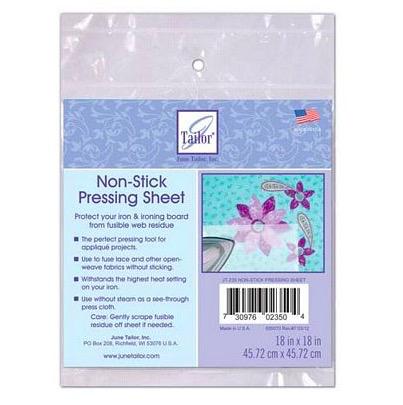 """June Tailor Teflon Non-stick Pressing Sheet 18""""x18"""""""
