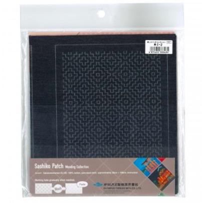 Olympus Sashiko Patch Mending Kit Black