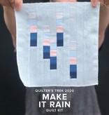 """Modern Domestic """"Make it Rain"""" 2020 Quilter's Trek Kit Modern Domestic Lake Oswego"""