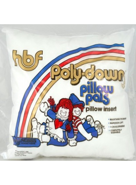 "Hobbs Pillow Forms 18"" Poly  CURBSIDE PICKUP ONLY"