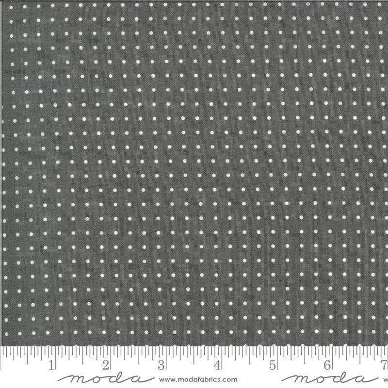 Moda Quotation by Zen Chic Graphite Dots