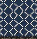 Ruby Star Society Golden Hour by Alexia Abegg for Ruby Star Tile Navy