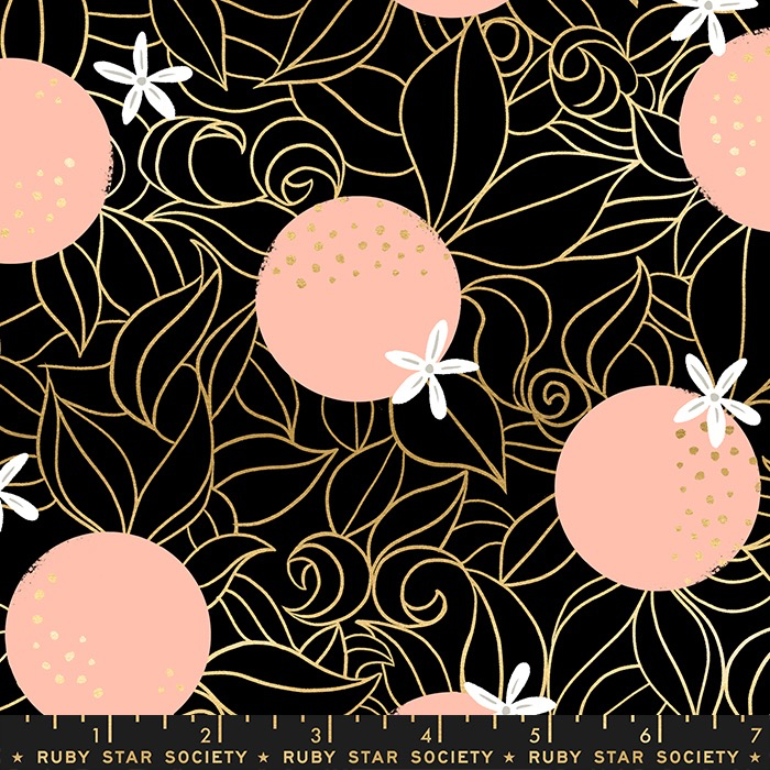Ruby Star Society Florida by Sarah Watts for Ruby Star Blossoms Black