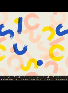 Ruby Star Society Whatnot by Rashida Coleman Hale for Ruby Star Brushwork Shell