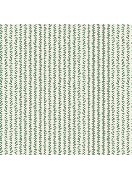 Rifle Paper Co Strawberry Fields by Rifle Paper Co. Laurel Stripe Cream