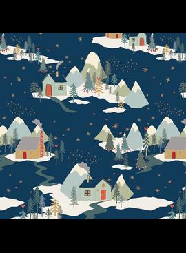 Art Gallery Cozy & Joyful by Maureen Cracknell Winter Wonderland