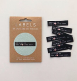 """Kylie and the Machine Kylie and the Machine Labels Sewing Tags """"Sewing is the F*ucking Best"""""""