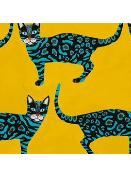 Alexander Henry Little Kenyan Cat Gold by Alexander Henry
