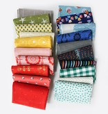 Modern Domestic Modern Domestic's 20 Piece Fat Quarter Bundle - Rainbow