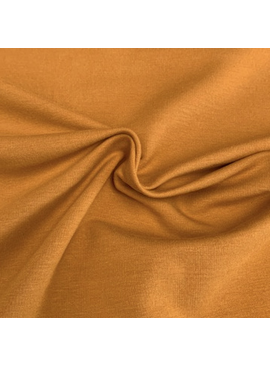 KenDor Bamboo Cotton Stretch Fleece Nugget Gold