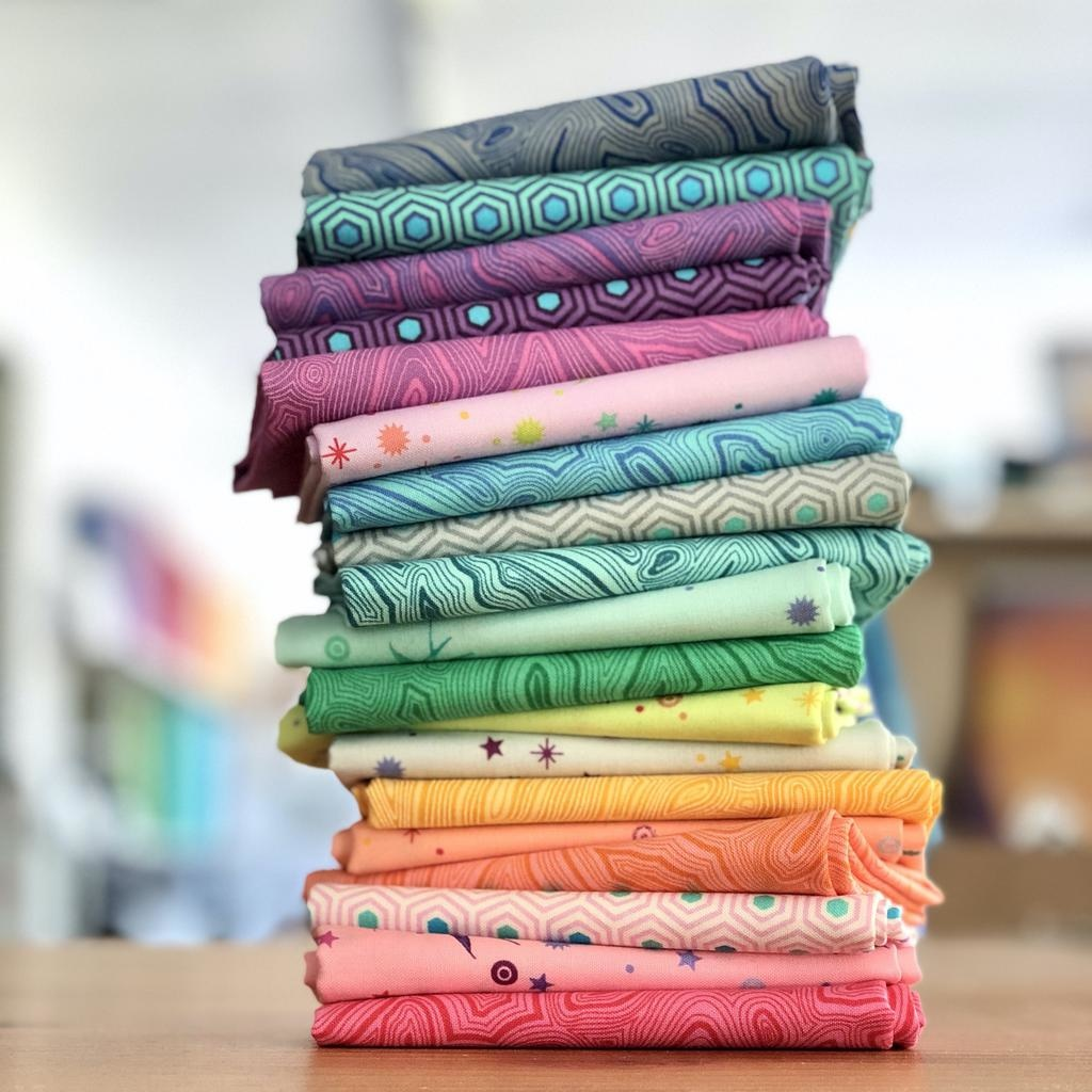 Freespirit Tula's True Colors by Tula Pink Fat Quarter Bundle 19pc